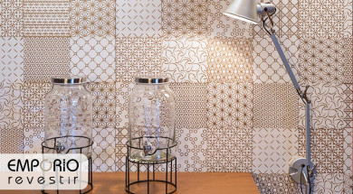 Patchwork Gold AC Decortiles