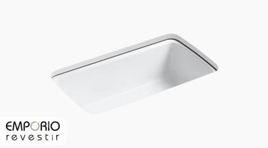 Cape Dory™ Pia de cozinha com cuba única de embutir de 838 mm x 559 mm x 244 mm Cape Dory™