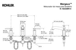 Margaux™  Misturador de mesa para lavatório