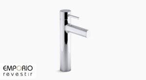 Cuff™ Misturador monocomando de mesa bica alta para lavatório