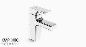 Strayt™ Misturador monocomando de mesa para lavatório