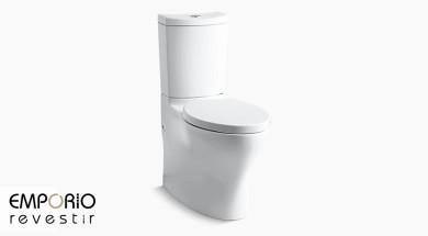 Persuade™ Curv Bacia sanitária alongada com descarga de duplo acionamento Persuade™ Curv
