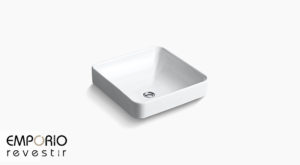 Vox™ Lavatório de louça sanitária Vox™ Square Vessel